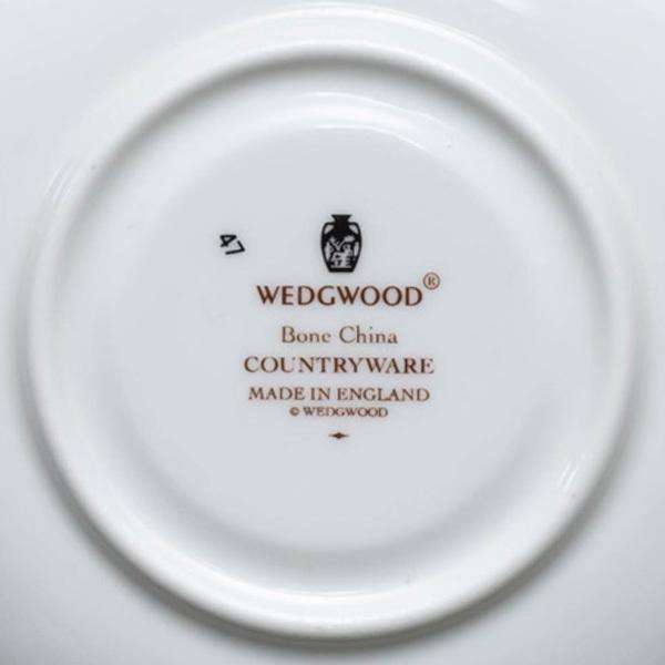 ウェッジウッド カントリーウェア ティーカップ&ソーサー selectors 05