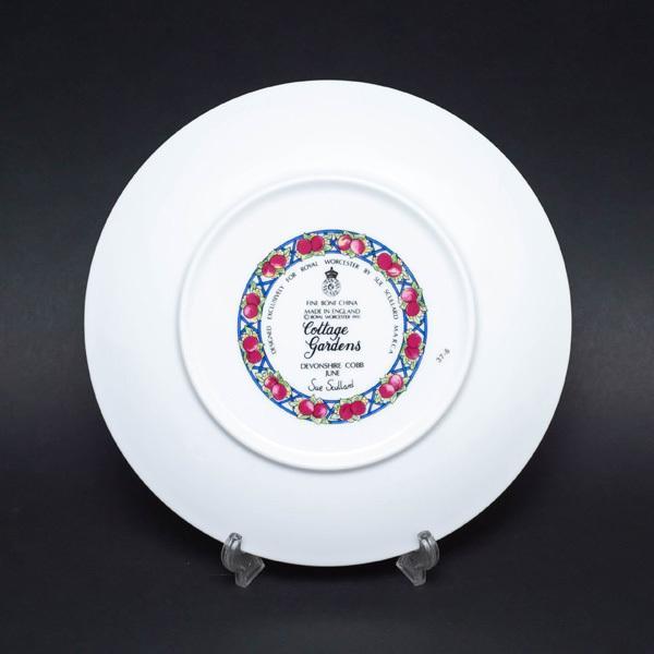 ロイヤル・ウースター コテージガーデン(6月) 21cmプレート|selectors|04