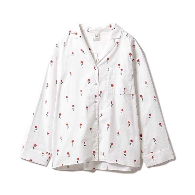 gelato pique ジェラートピケ ルームウェアー 通販 ネルモチーフモチーフシャツ pwft214256 selectshopmu 05