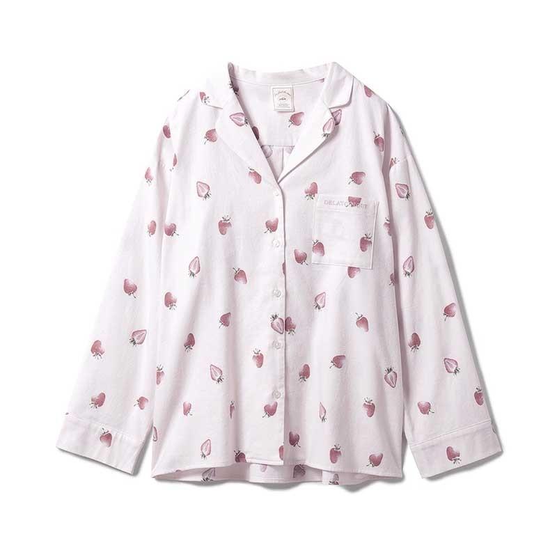 gelato pique ジェラートピケ ルームウェアー 通販 ネルモチーフモチーフシャツ pwft214256 selectshopmu 06