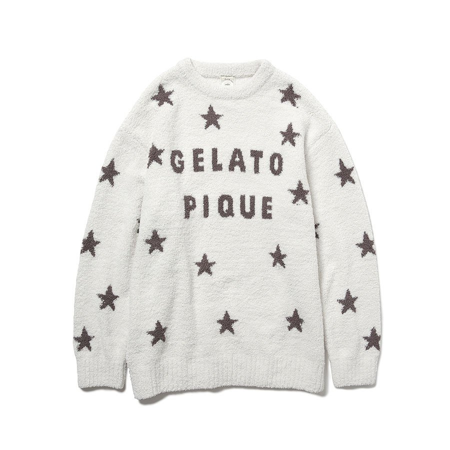 gelato pique ジェラートピケ ルームウェアー 通販 スタージャガードプルオーバー pwnt214053 ジェラピケ 2021秋 2021AW  レディース selectshopmu 08
