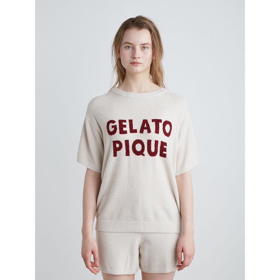 gelato pique ジェラートピケ ルームウェアー 通販 スムーズィー'ロゴジャガードプルオーバー pwnt214078 ジェラピケ 2021秋 2021AW|selectshopmu|03
