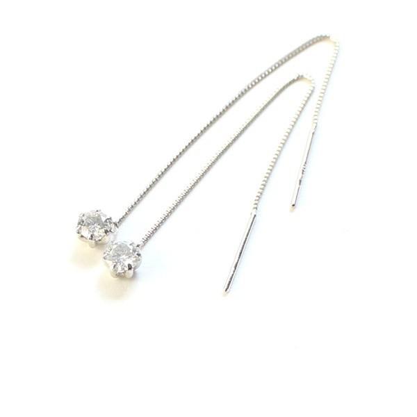 素晴らしい品質 ショートプラチナ0.3ctダイヤモンド ショート アメリカンチェーンピアス〔〕, Takeo-shop:aa113639 --- airmodconsu.dominiotemporario.com