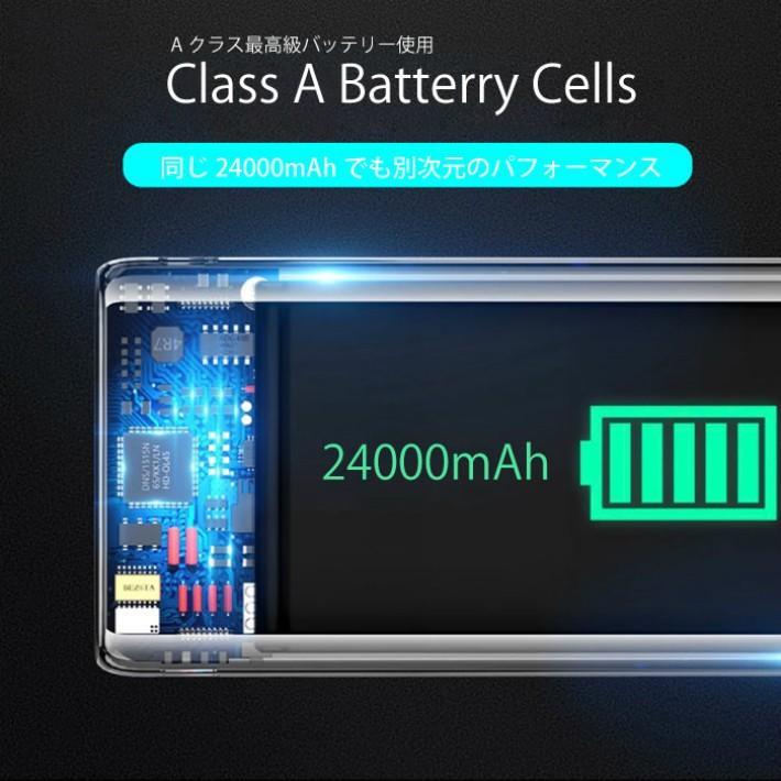 モバイルバッテリー ソーラーモバイルバッテリー 24000mAh 大容量 太陽光充電 パワーバンク ソーラー充電器 スマホ アウトドア iPhone Android|selectshoptoitoitoi|07