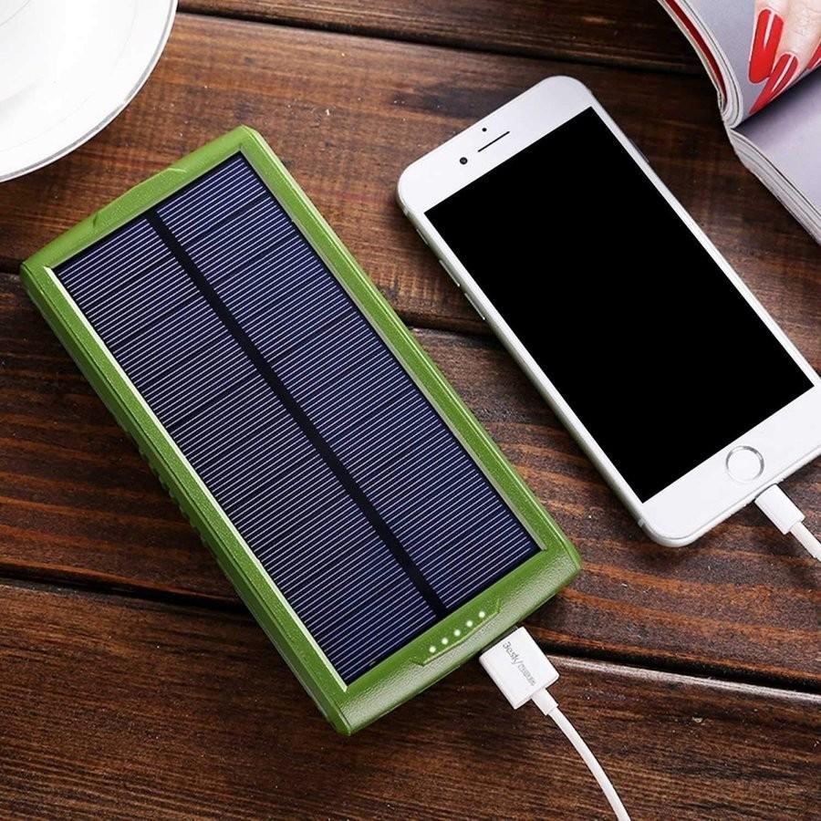 モバイルバッテリー ソーラーモバイルバッテリー 24000mAh 大容量 太陽光充電 パワーバンク ソーラー充電器 スマホ アウトドア iPhone Android|selectshoptoitoitoi|09