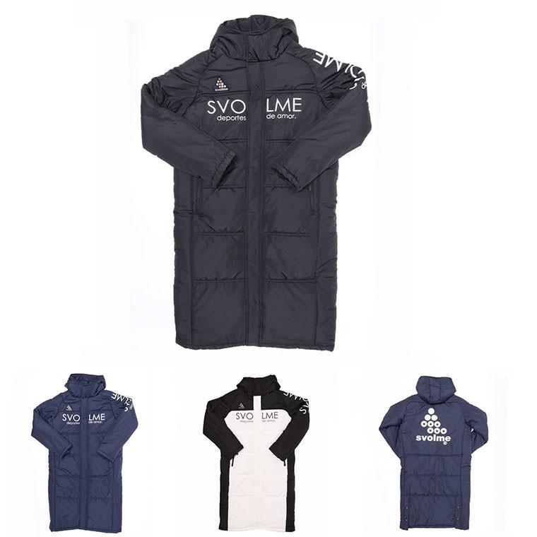 SVOLME(スボルメ)1193-34704 発熱中綿ベンチコート 10月発売予約販売
