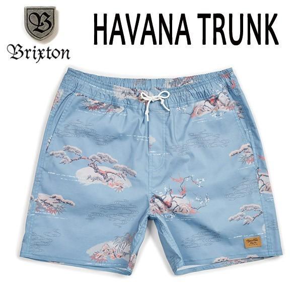 BRIXTON,ブリクストン/19SP/水陸両用/BOARDSHORTS・ボードショーツ・サーフトランクス・水着/HAVANA TRUNK/青 DREAM・ブルー/メンズ