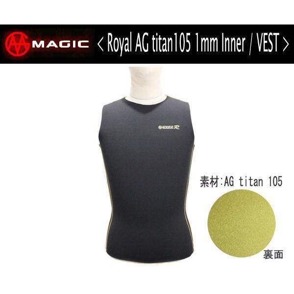 MAGIC,マジック/SPEED STAR-R・インナーシリーズ/1mmROYAL AG+ INNER VEST・ベストタイプ/S・M・L・XLサイズ(サイズ4展開)
