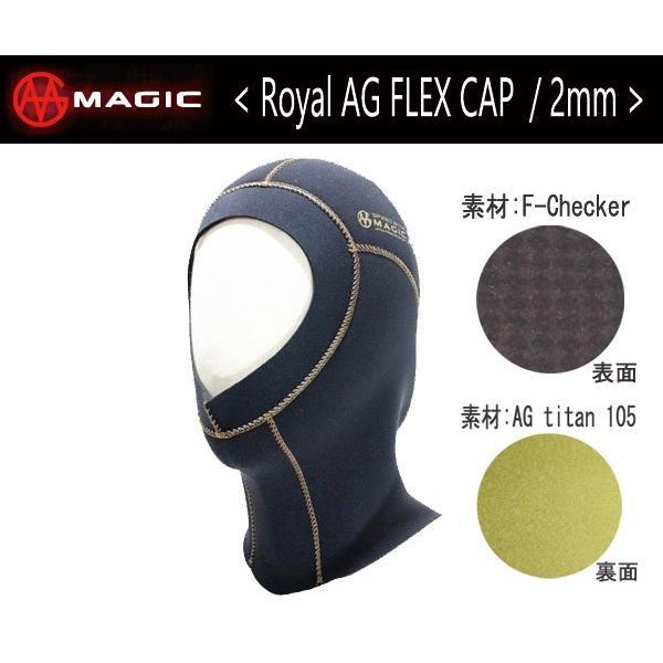 MAGIC,マジック/SPEED STAR-Rシリーズ/2mm ROYAL AG FLEX CAP ・2mmフレックスキャップ/S・M・L・XL・XXLサイズ(サイズ5展開)