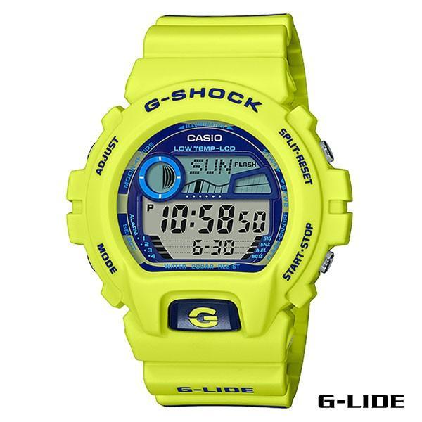 CASIO,カシオ/G-SHOCK,ジーショック/タイド付き・G-LIDEシリーズ/GLX-6900SS-9JF/イエロー/腕時計/サーフウォッチ
