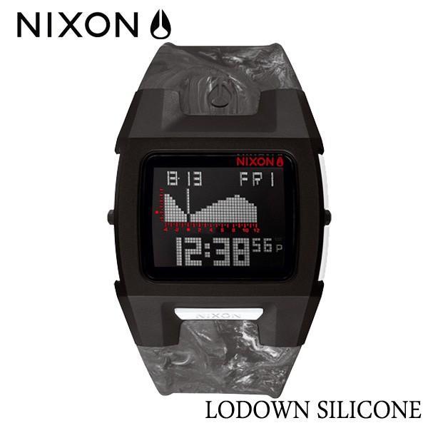 セットアップ NIXON,ニクソン LODOWN/時計,サーフウォッチ,TIDE付き/2015年summer新作 BLACK/THE LODOWN SILICONE,ローダウンシリコン/NA2811611-00/MARBLED SMOKE BLACK SMOKE, インテリアショップe-goods:fdb59f0f --- airmodconsu.dominiotemporario.com
