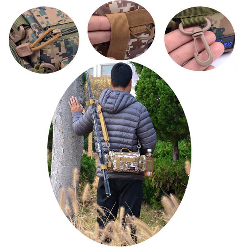 マルチフィッシングバック フィッシングバッグ タックルバッグ ヒップバッグ ショルダーバッグ ルアーケース 釣りバック 大容量 多機能 防水 アウトドア|sellmax1|09