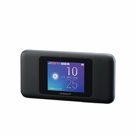 【中古箱無し本体のみ】Speed Wi-Fi NEXT W06 ブラックxブルー|sellsta|02