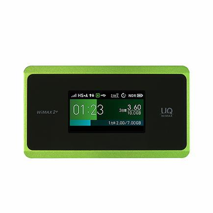 【中古箱無し本体のみ】Speed Wi-Fi NEXT WX06 ライムグリーン|sellsta