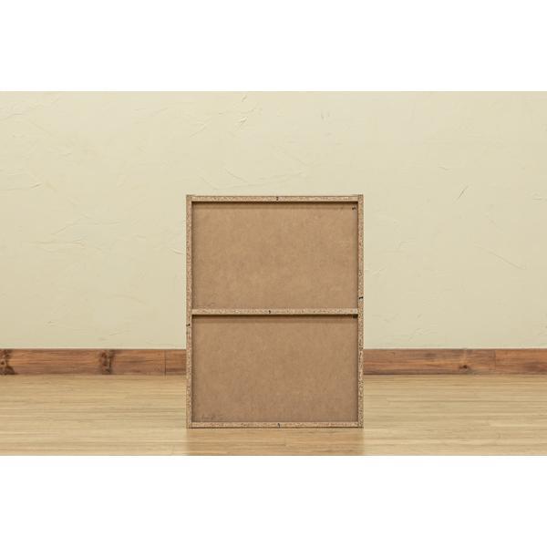 2段ラック 扉1枚つき シンプルラック 本棚 収納 ブラック ホワイト 送料無料 hmp22|semins-zakaa|04