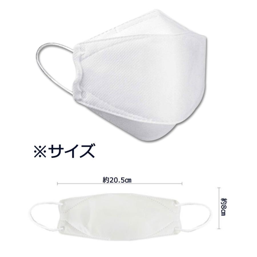 KF94 マスク ダイヤモンド形状 50枚入り 使い捨てマスク 3層構造 プレミアムマスク 不織布マスク 防塵マスク ウイルス 飛沫対策 PM2.5 花粉|senastyle|05