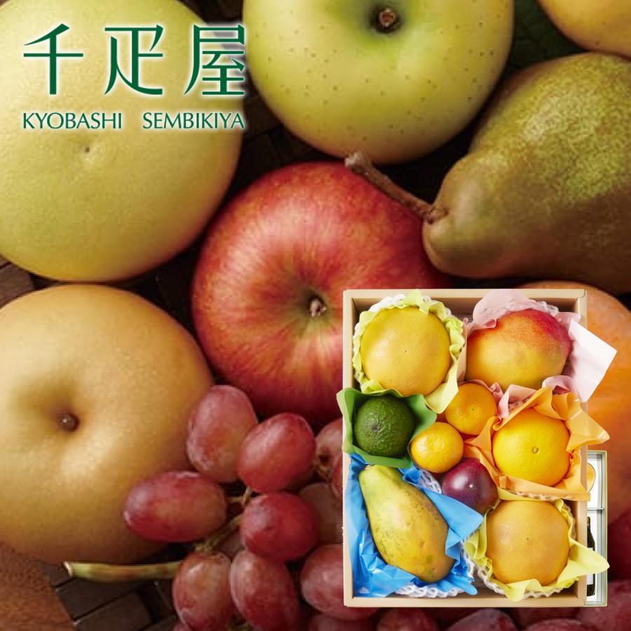 千疋屋 ギフト 果物詰合せ(季節の果物、5〜7種類程) 京橋千疋屋 senbikiya