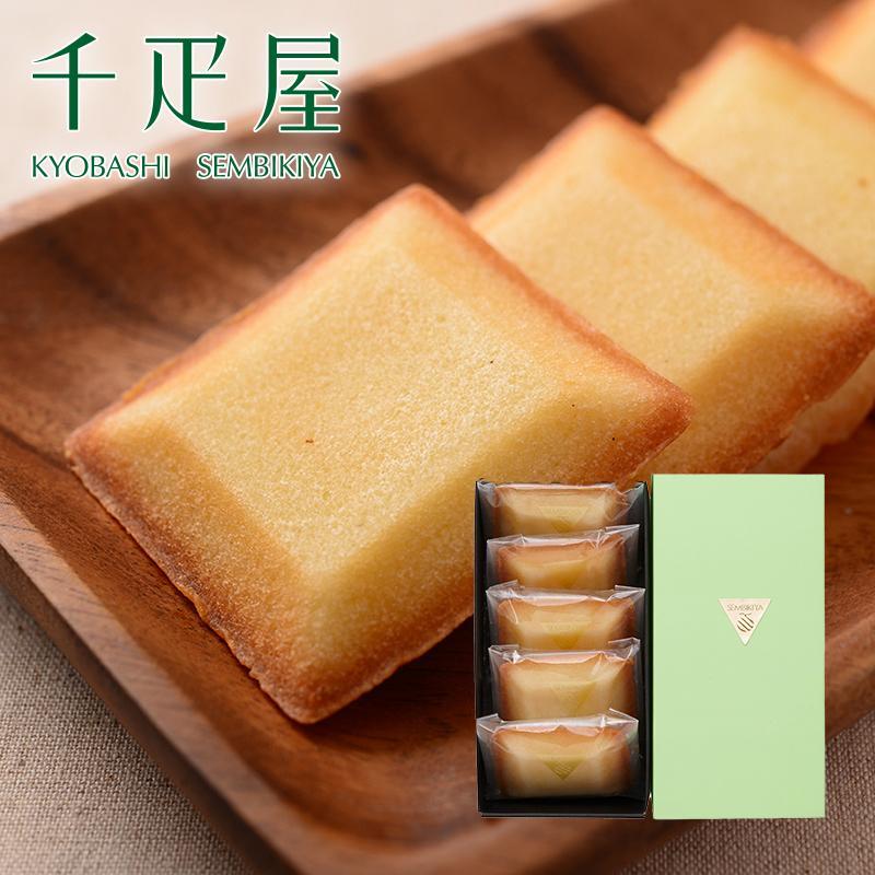 千疋屋 ギフト フルーツ焼き菓子(フリアン)5個入 京橋千疋屋|senbikiya