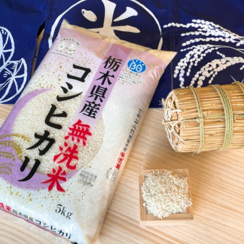 お米 BG無洗米 10kg(5kg×2) 栃木県産コシヒカリ 令和2年産 senda 02
