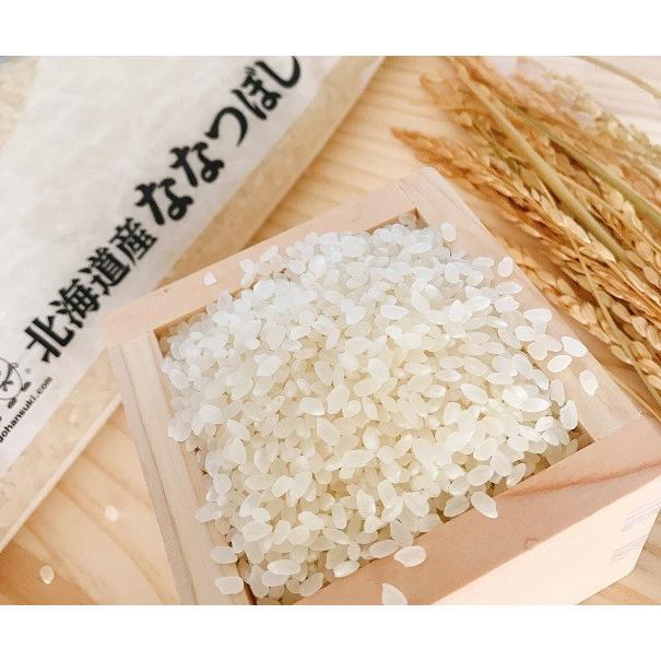 お米 10kg(5kg×2) 北海道産ななつぼし 令和2年産 senda 04