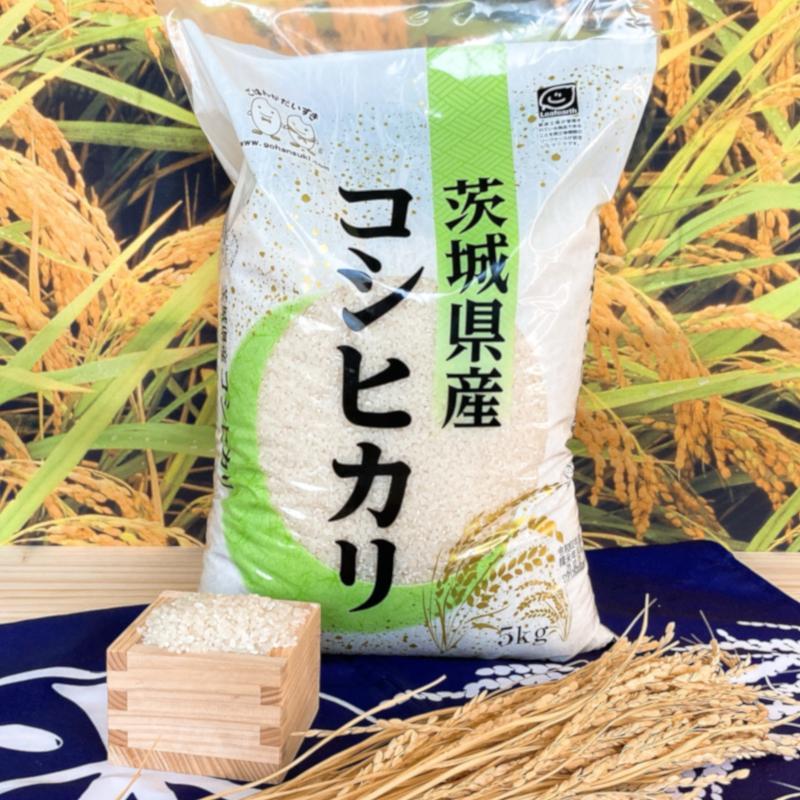 お米 30kg(5kg×6) 茨城コシヒカリ 令和2年産 senda 02