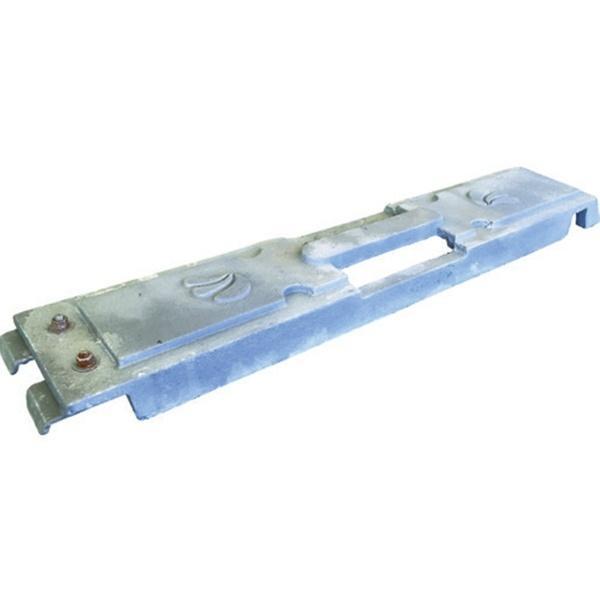 4個セット いもり君 工事看板用 重し 工事現場 転倒防止 仙台銘板 オリジナル ウエイト 鋳物 風対策 2951130 sendai-meiban