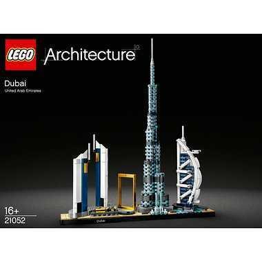 【アウトレット 箱傷みあり】LEGO レゴブロック 21052 アーキテクチャー ドバイ|senkai-belle-de-nuit