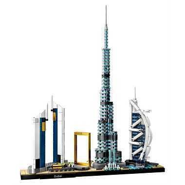 【アウトレット 箱傷みあり】LEGO レゴブロック 21052 アーキテクチャー ドバイ|senkai-belle-de-nuit|02