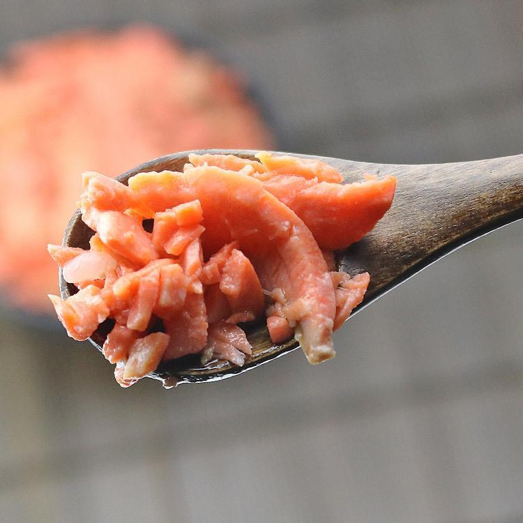 サーモン 訳あり 辛口 生スライス 1kg 鮭 しゃけ シャケ さけ 紅鮭 切り落とし 端材 業務用 メガ盛り 冷凍便 senkatsuhan 08