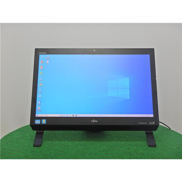 カメラ内蔵/中古/WIN10/新品無線キーボード&マウス/500GB/4GB/21型/2世代i3/FMV/FH50/HN一体型 リカバリー領域   Microsoft Office2019 senrakuen