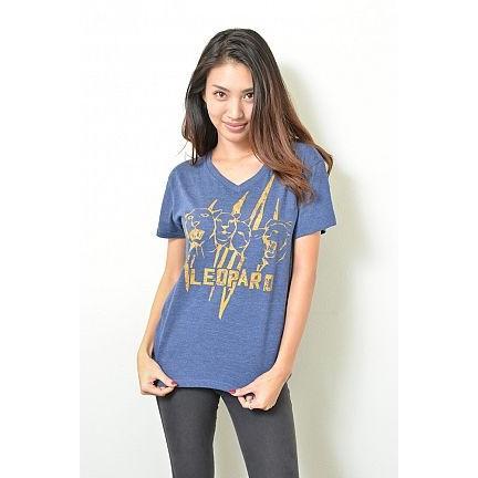 青山めぐコラボ LEOPARD Tシャツ|sephirothictree