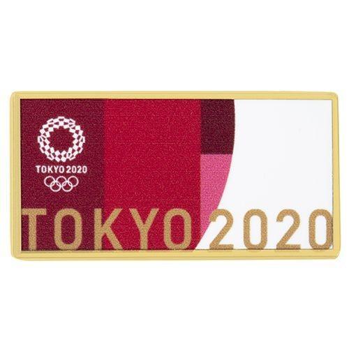 返品不可 東京2020オリンピック 公式商品 オフィシャルライセンス 横型ピンバッジ 大会ルック 激安卸販売新品 ピンバッジ