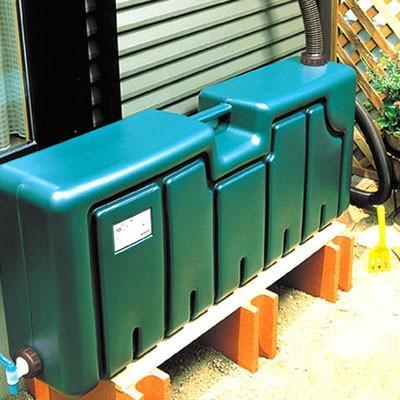 ミツギロン 雨水タンク(容量80L) 雨水貯留タンク 薄型|sessuimura|02
