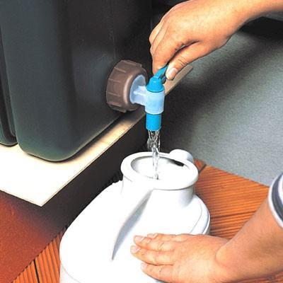 ミツギロン 雨水タンク(容量80L) 雨水貯留タンク 薄型|sessuimura|04