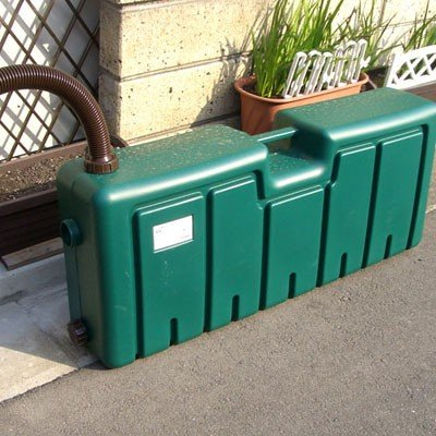 ミツギロン 雨水タンク(容量80L) 雨水貯留タンク 薄型|sessuimura|05