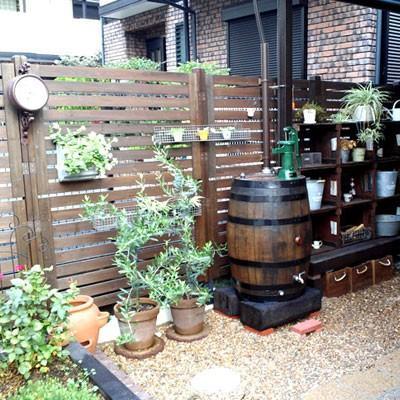 雨水タンク(雨水貯留槽) ウイスキー樽 「アーサー180L」 雨水貯留タンク おしゃれ|sessuimura|02