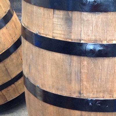 雨水タンク(雨水貯留槽) ウイスキー樽 「アーサー180L」 雨水貯留タンク おしゃれ|sessuimura|05