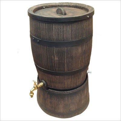 雨水タンク ウイスキー樽風 ウィリアム 240L プラスチック製  おしゃれな 雨水貯留タンク|sessuimura|02