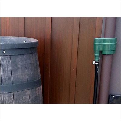 雨水タンク ウイスキー樽風 ウィリアム 240L プラスチック製  おしゃれな 雨水貯留タンク|sessuimura|04