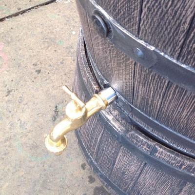 雨水タンク ウイスキー樽風 ウィリアム 240L プラスチック製  おしゃれな 雨水貯留タンク|sessuimura|06