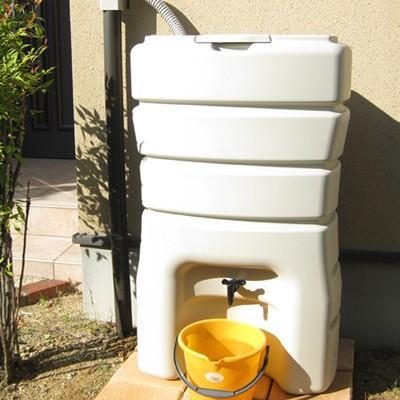 雨水タンク まる140L 雨水貯留タンク 雨水タンク 補助金 スリム おしゃれ 高品質 コンパクト 薄型 丸一|sessuimura|02