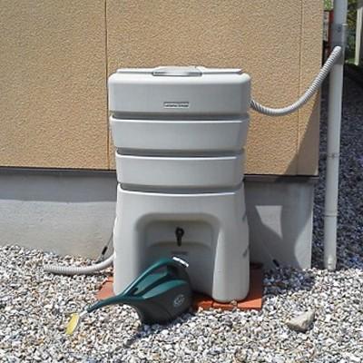 雨水タンク まる140L 雨水貯留タンク 雨水タンク 補助金 スリム おしゃれ 高品質 コンパクト 薄型 丸一|sessuimura|04