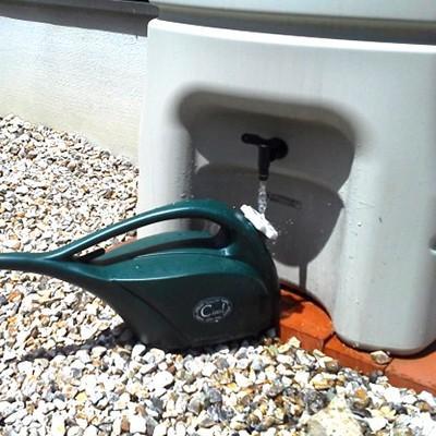 雨水タンク まる140L 雨水貯留タンク 雨水タンク 補助金 スリム おしゃれ 高品質 コンパクト 薄型 丸一|sessuimura|07