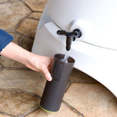 \特典!mont-bell携帯浄水器プレゼント/雨水タンク おしゃれ RainHarvest レインハーベスト 150リットル 雨水貯留タンク 防災グッズ トイレ 断水|sessuimura|04