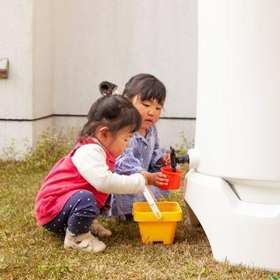 \特典!mont-bell携帯浄水器プレゼント/雨水タンク おしゃれ RainHarvest レインハーベスト 150リットル 雨水貯留タンク 防災グッズ トイレ 断水|sessuimura|05