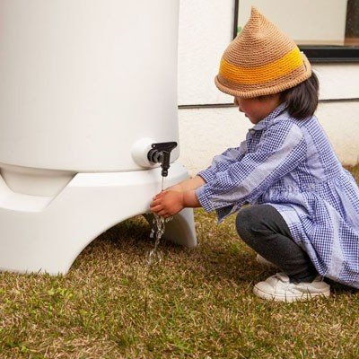 \特典!mont-bell携帯浄水器プレゼント/雨水タンク おしゃれ RainHarvest レインハーベスト 150リットル 雨水貯留タンク 防災グッズ トイレ 断水|sessuimura|06
