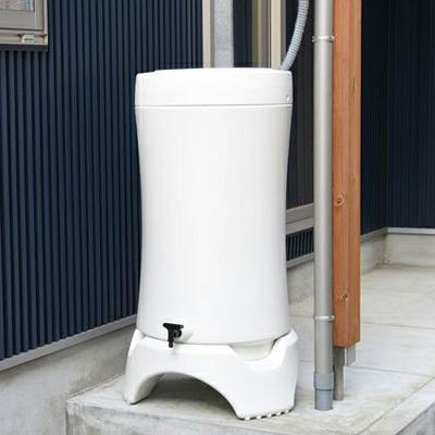 \特典!mont-bell携帯浄水器プレゼント/雨水タンク おしゃれ RainHarvest レインハーベスト 150リットル 雨水貯留タンク 防災グッズ トイレ 断水|sessuimura|07