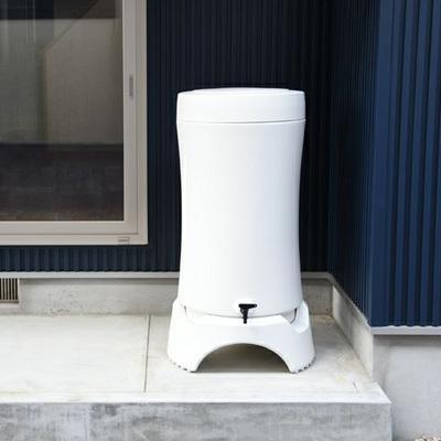 \特典!mont-bell携帯浄水器プレゼント/雨水タンク おしゃれ RainHarvest レインハーベスト 150リットル 雨水貯留タンク 防災グッズ トイレ 断水|sessuimura|08
