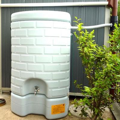雨水タンク タキロン 雨音くん 200L(架台一体型 雨水貯留タンク) 雨水貯留槽|sessuimura|02