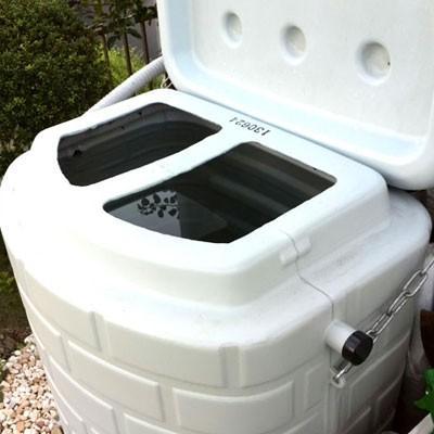 雨水タンク タキロン 雨音くん 200L(架台一体型 雨水貯留タンク) 雨水貯留槽|sessuimura|04